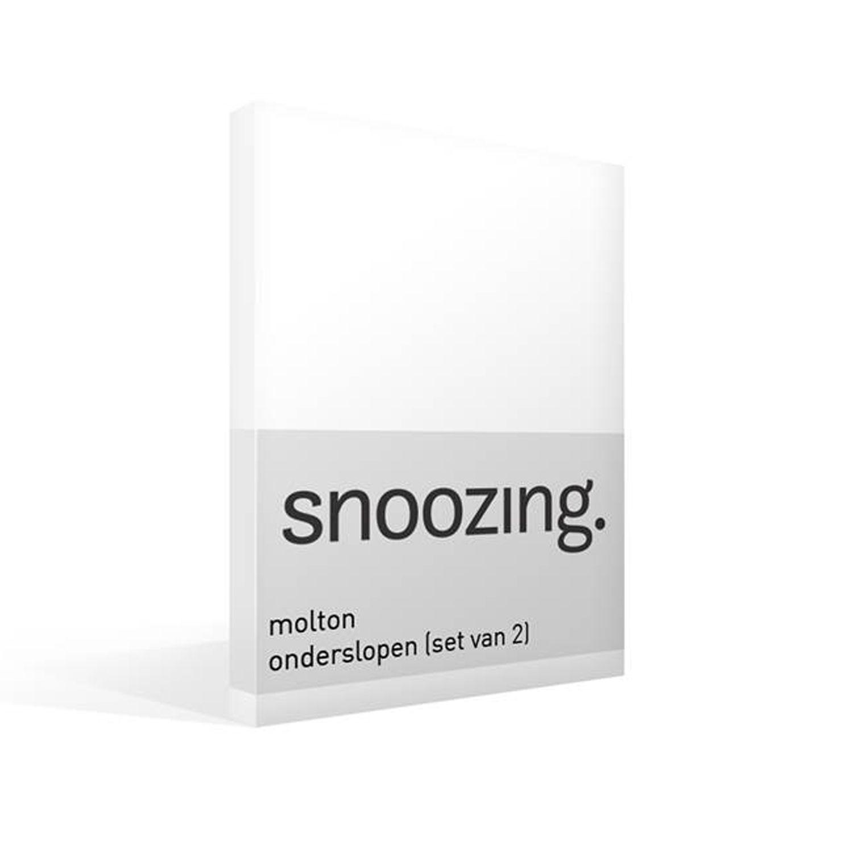 Snoozing molton onderslopen (set van 2)