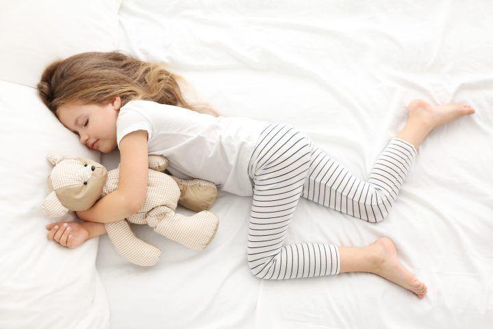 Kind op tijd naar bed