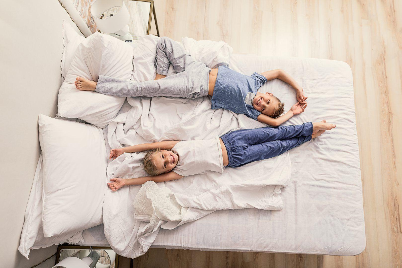 Kinderen op tijd naar bed