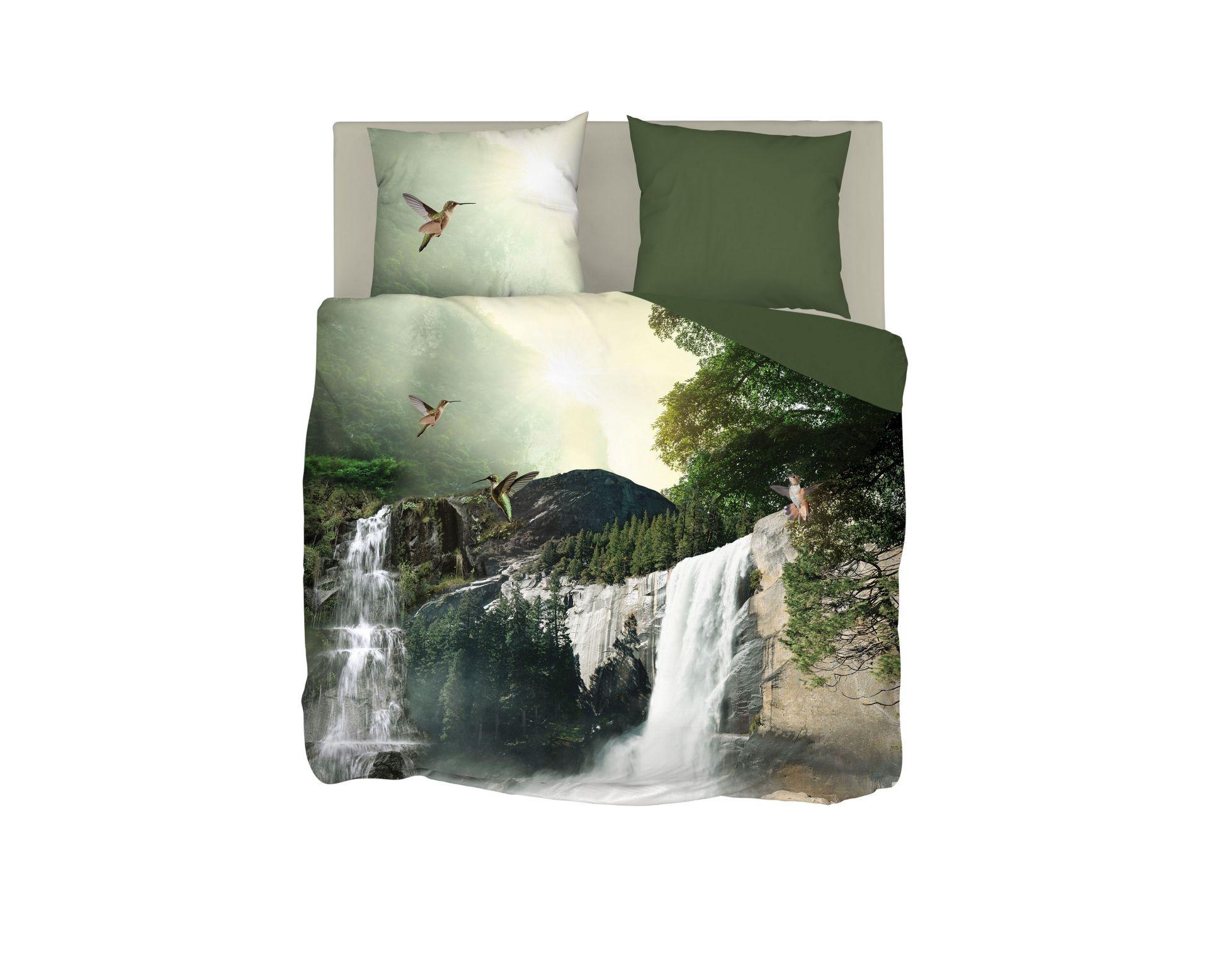 Snoozing Waterfalls dekbedovertrek