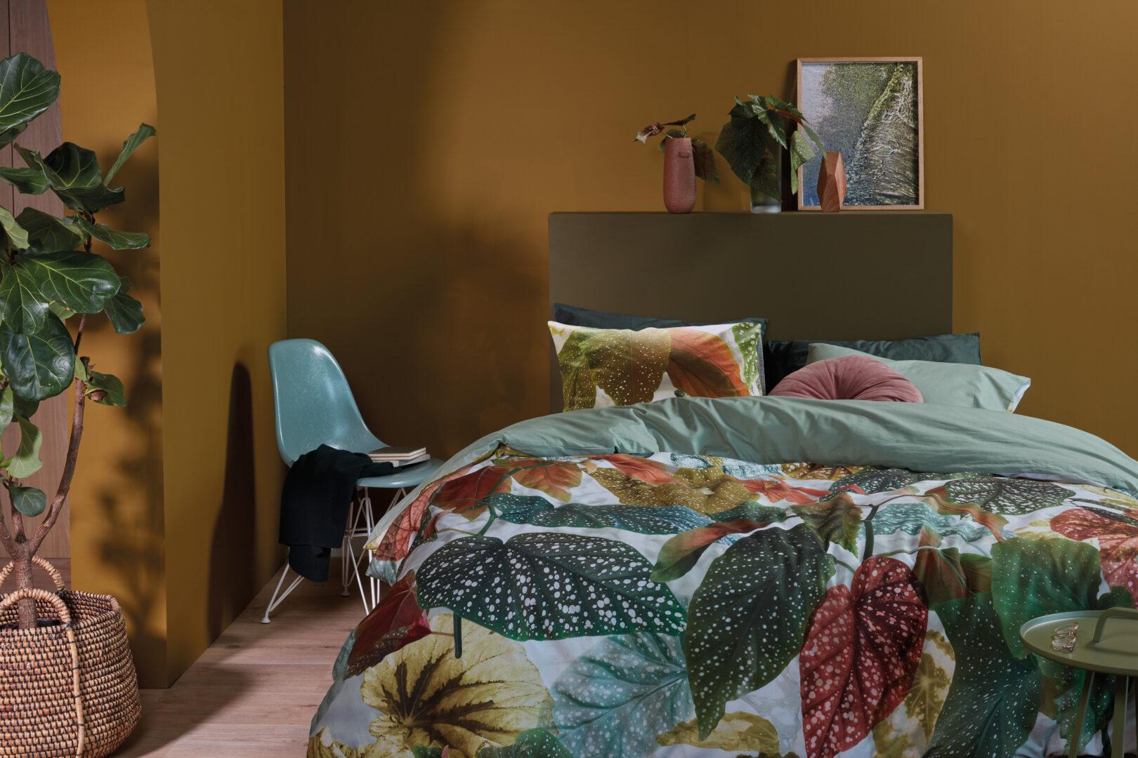 Beddinghouse Begonia dekbedovertrek