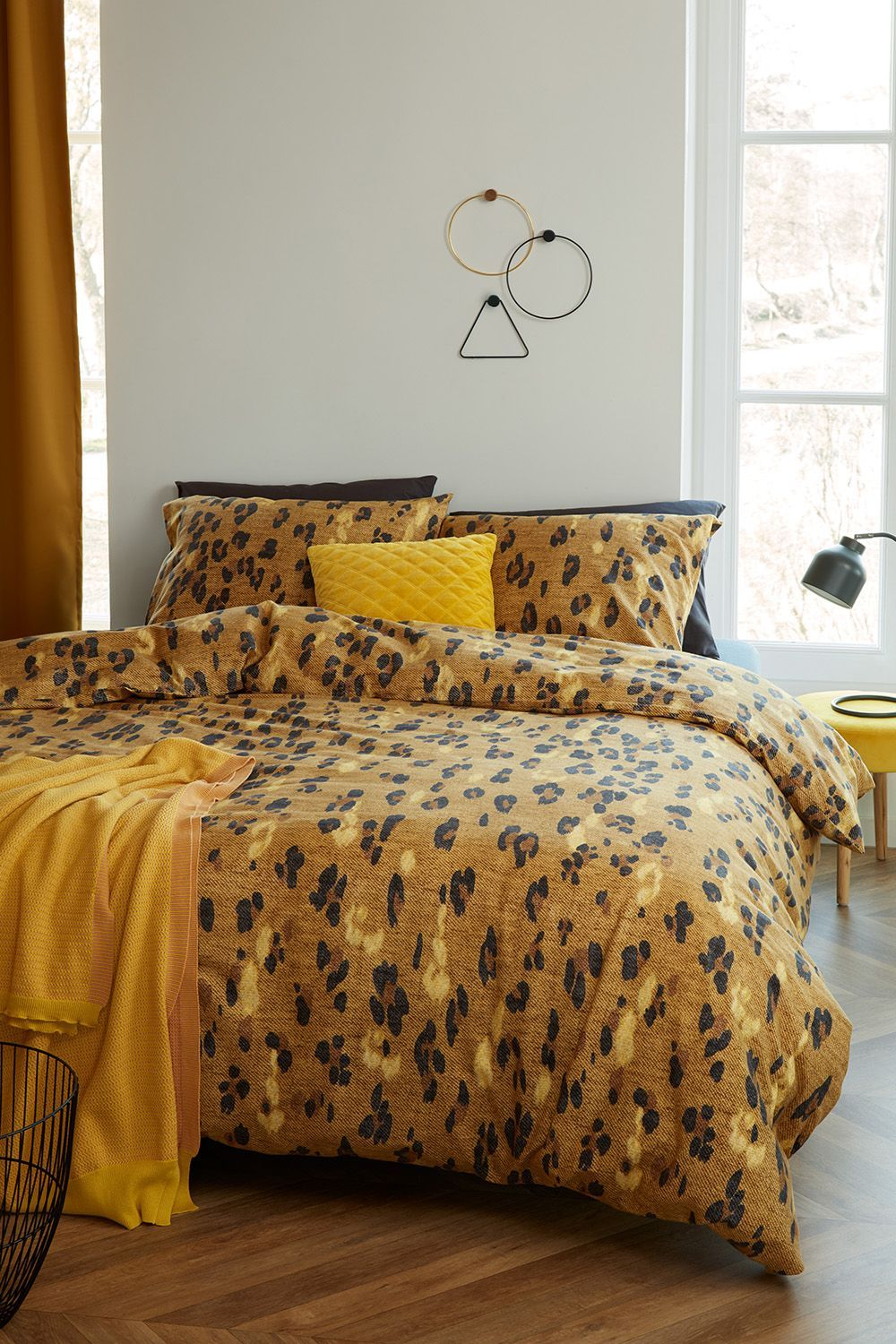 Beddinghouse Sabor flanel dekbedovertrek Animal Print