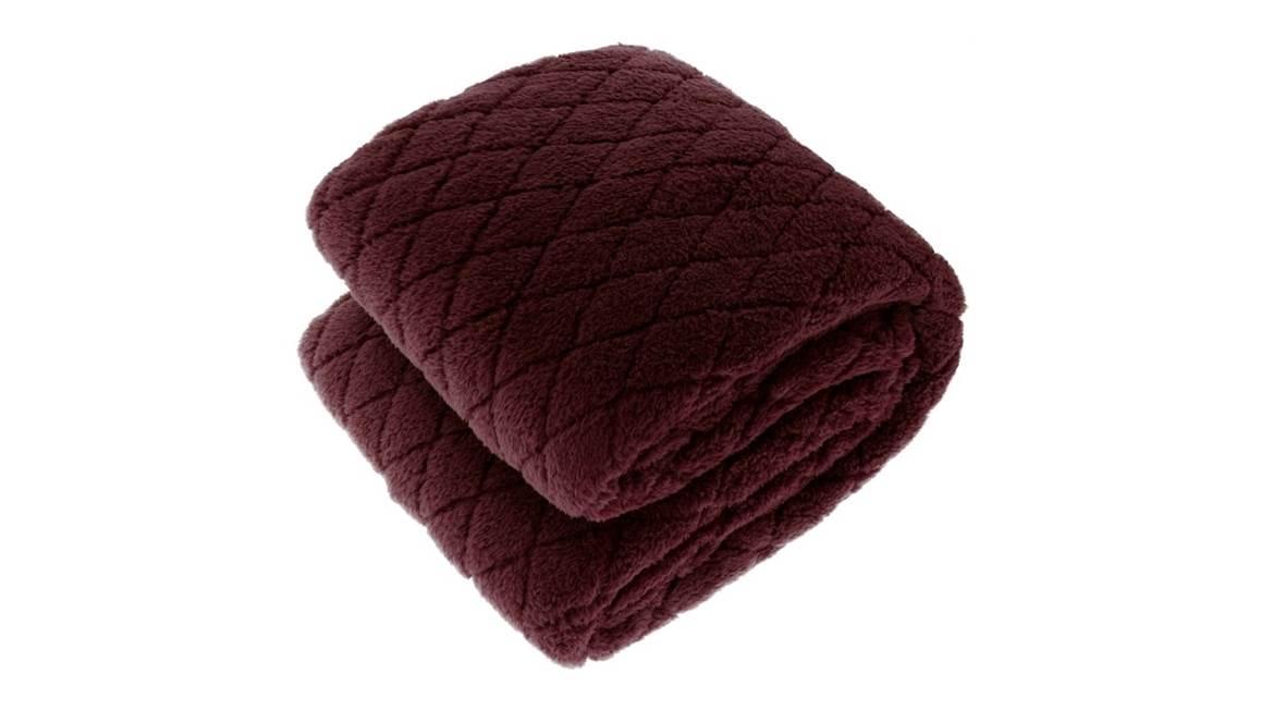 Unique Living Ezra fleece plaid