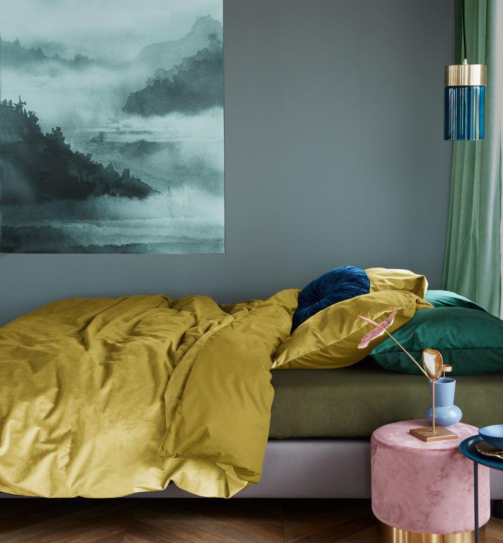 At Home By Beddinghouse Tender Oker Velvet