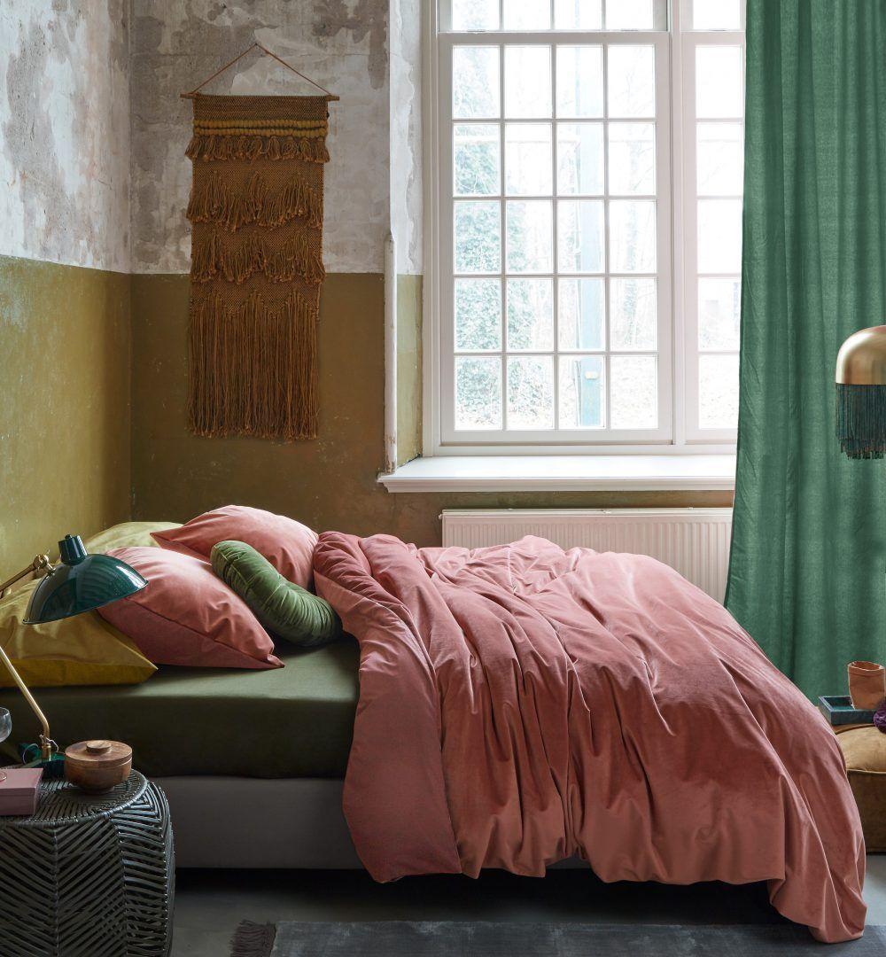 At Home By Beddinghouse Tender Roze Velvet