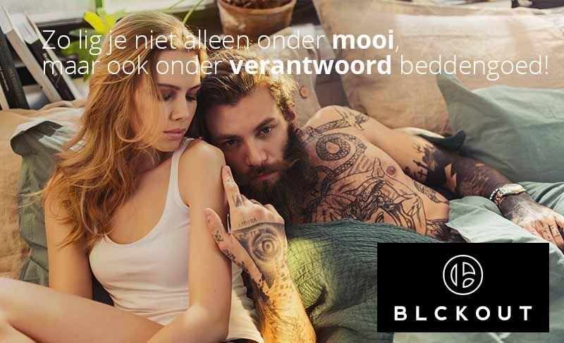BLCKOUT - Zo lig je niet alleen onder mooi, maar ook onder verantwoord beddengoed
