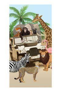 Good Morning Jeep Jungle strandlaken