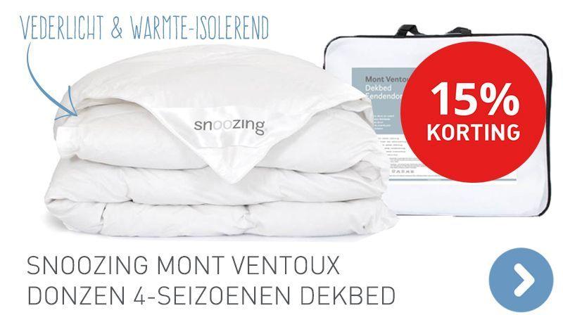 Snoozing Mont Ventoux donzen 4-seizoenen dekbed