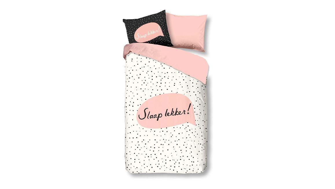 Snoozing Slaap Lekker dekbedovertrek Scandinavische slaapkamer