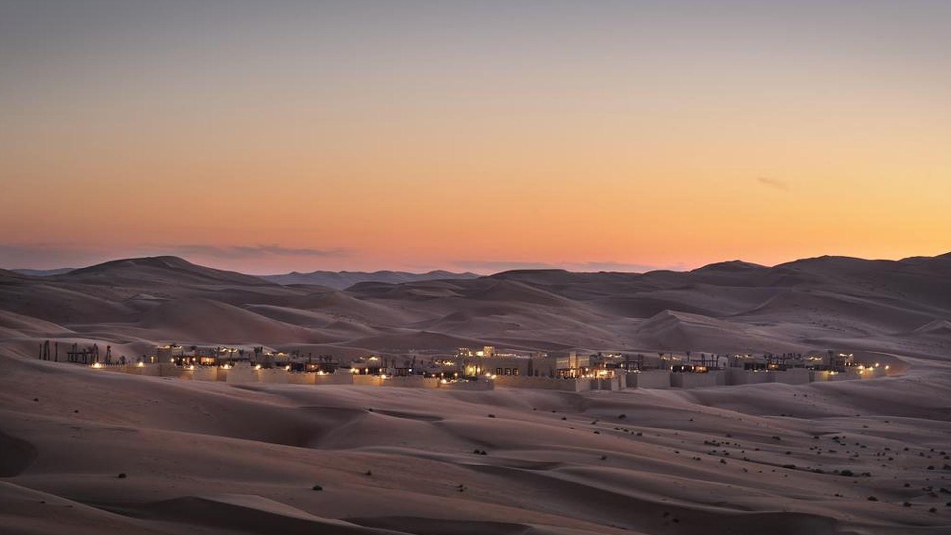 Woestijn Anantara Qasr al Sarab Desert Resort