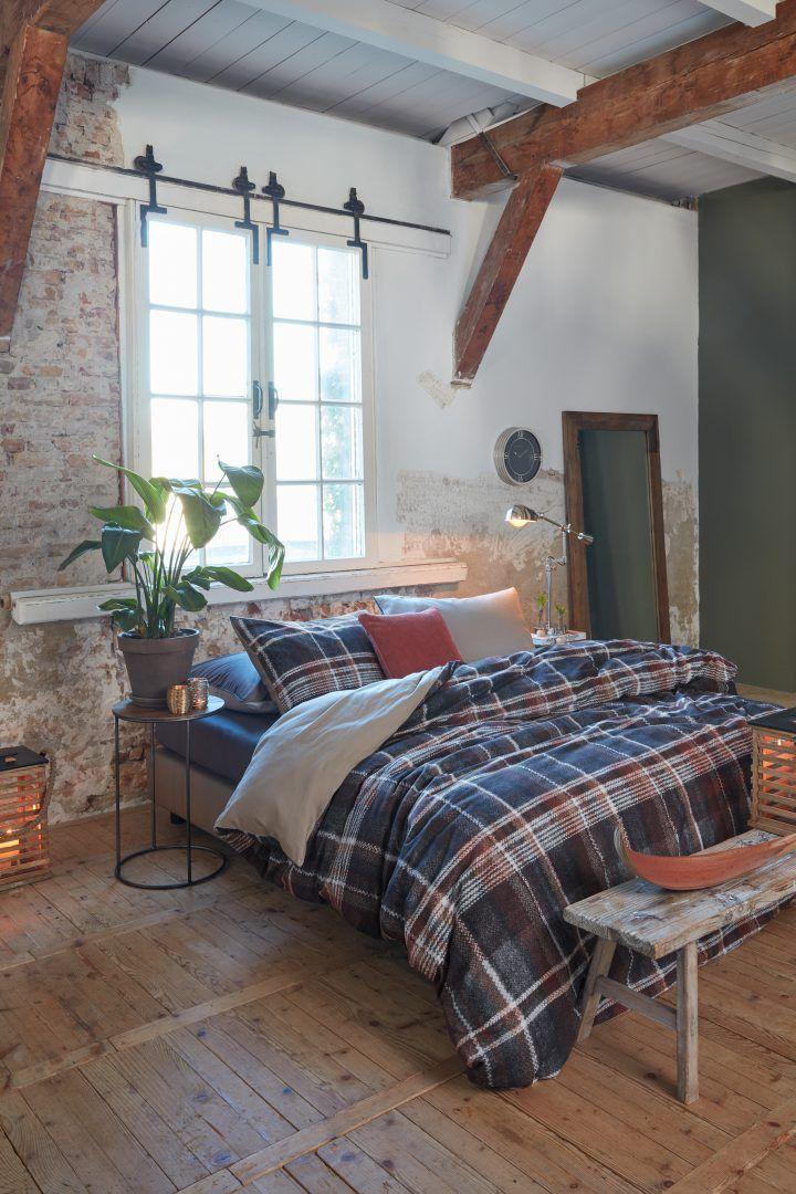 Rivièra Maison Tartan Tweed flanel dekbedovertrek - 10 redenen om van de winter te houden