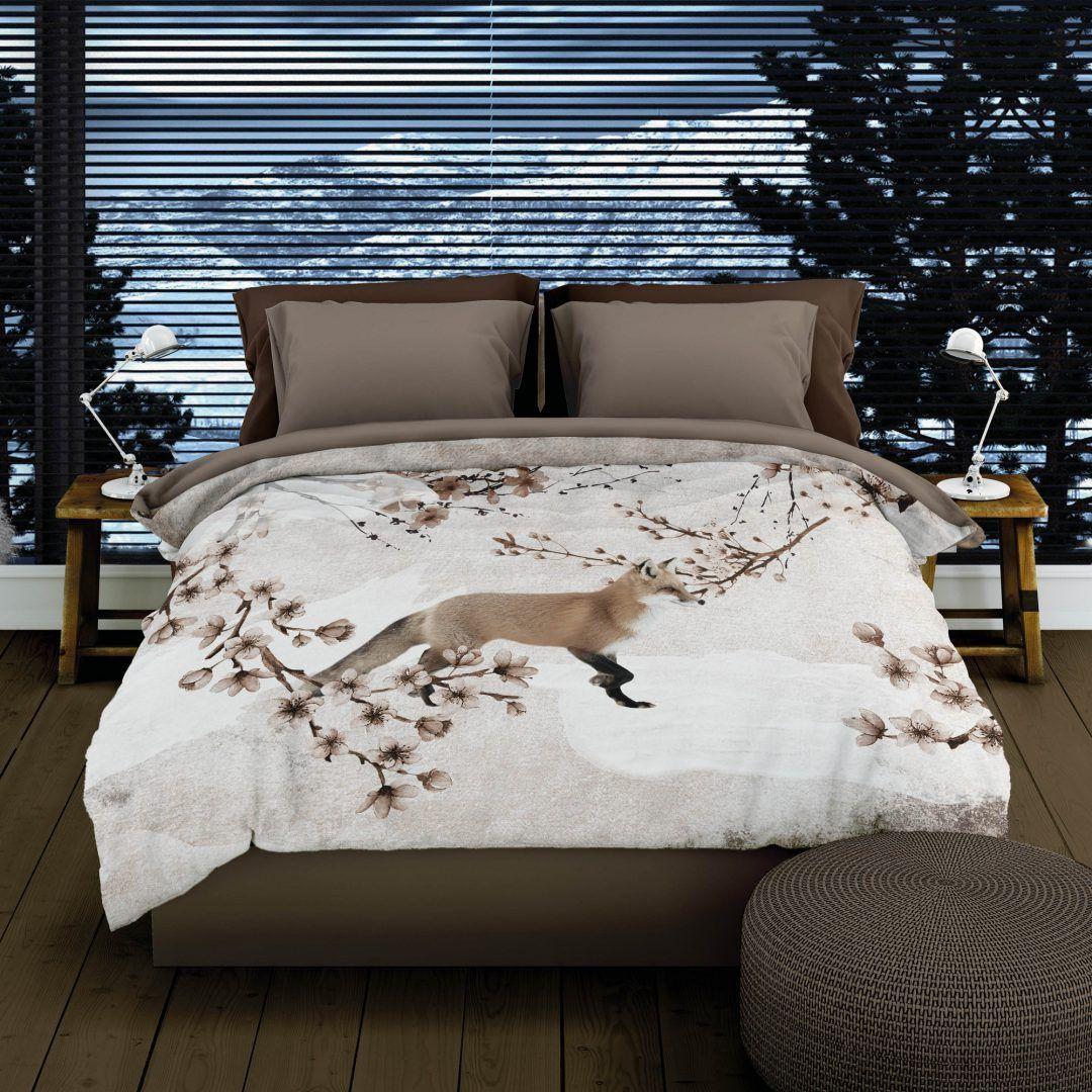 Romanette Foxy flanel dekbedovertrek - 10 redenen om van de winter te houden