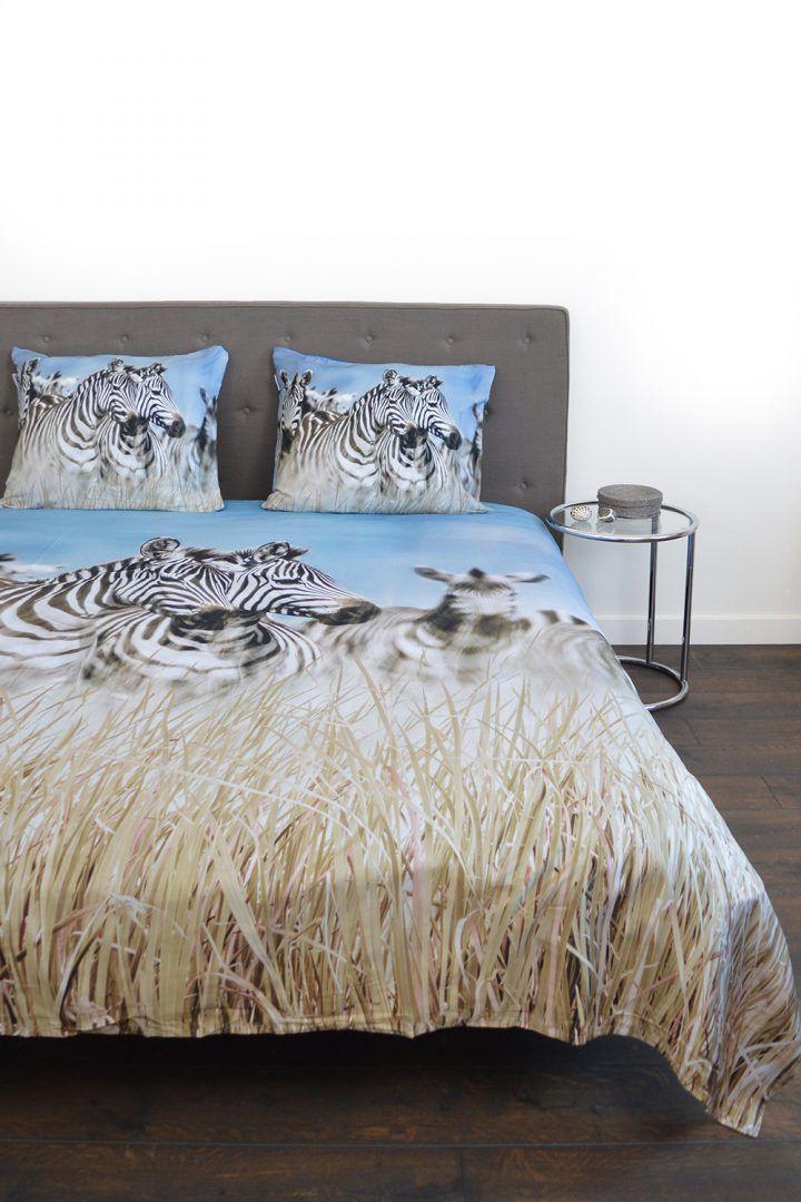 Snoozing Zebra dekbedovertrek