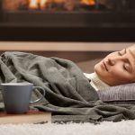 Slapen bij koud weer