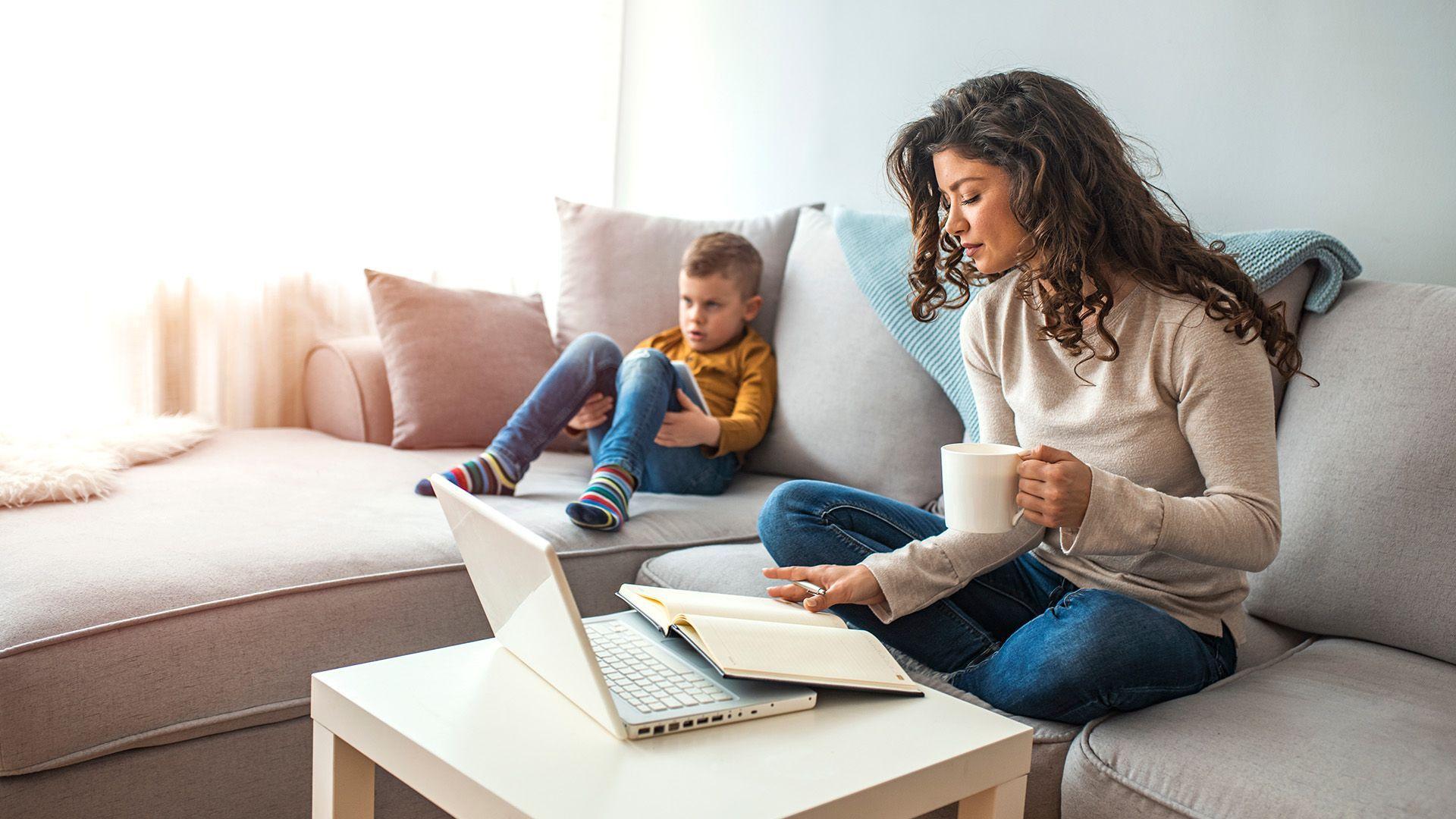 Thuiswerken met kinderen; hoe pak je dat slim aan?