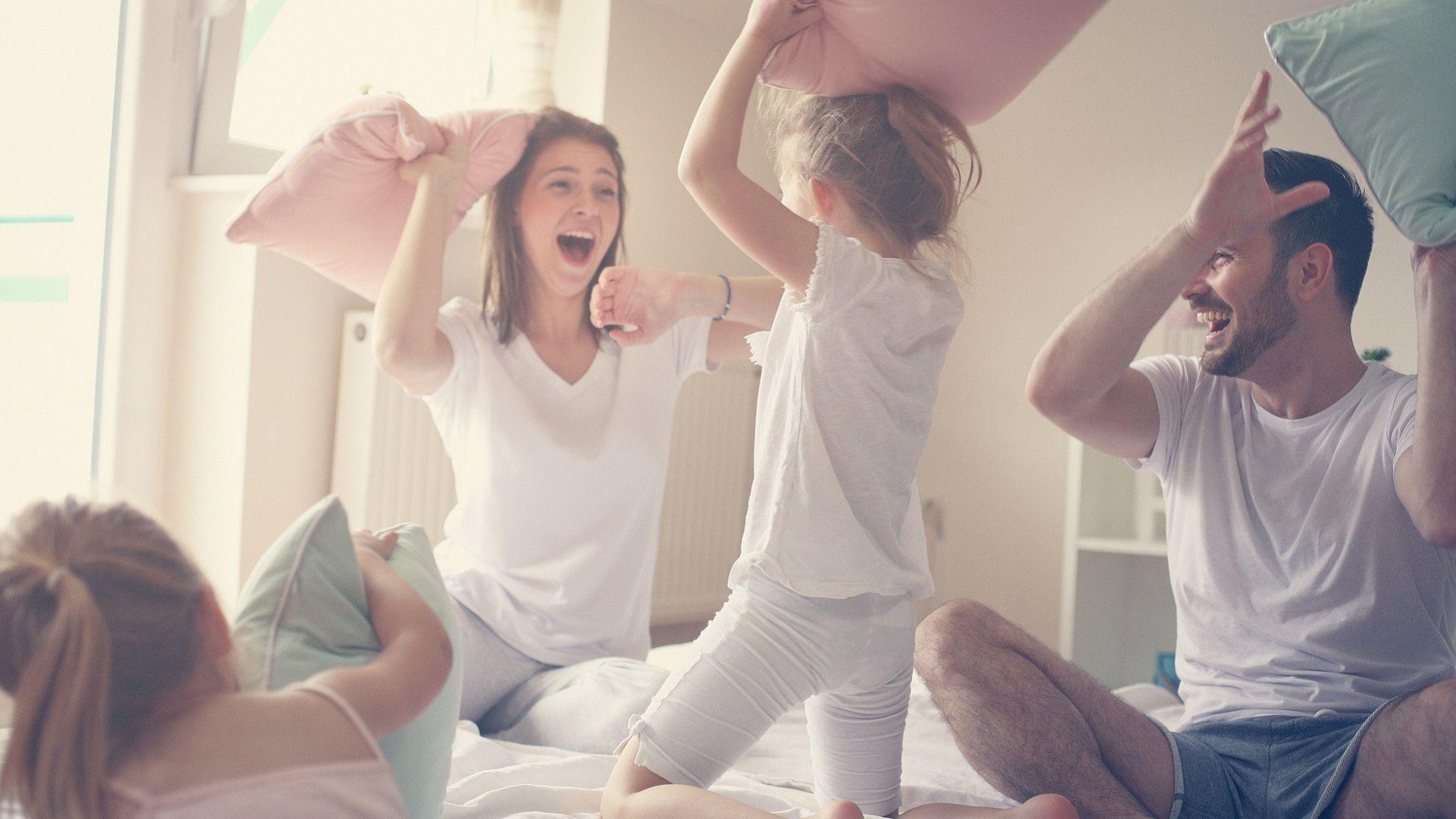 Een druk gezinsleven maakt thuiswerken niet altijd gemakkelijk