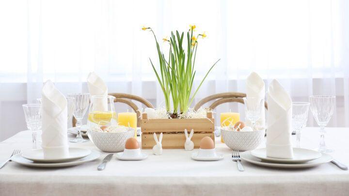 Pasen: tips voor een mooi gedekte paastafel