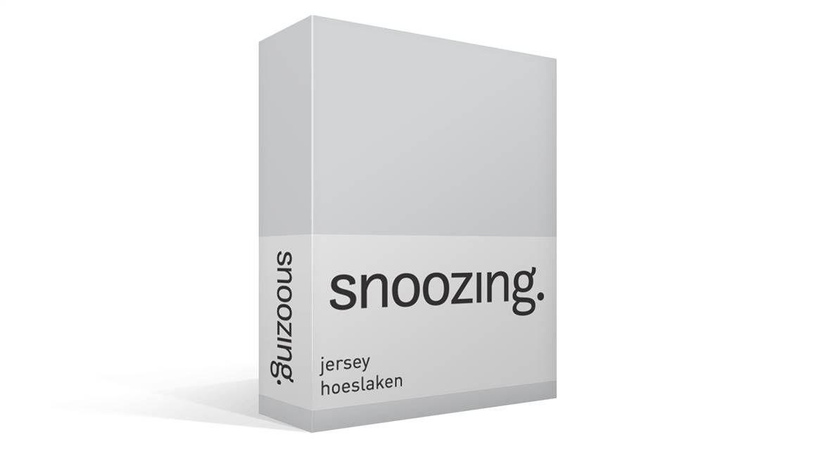 Snoozing Jersey hoeslaken