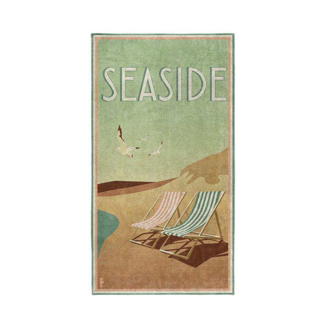 Seahorse Blackpool strandlaken