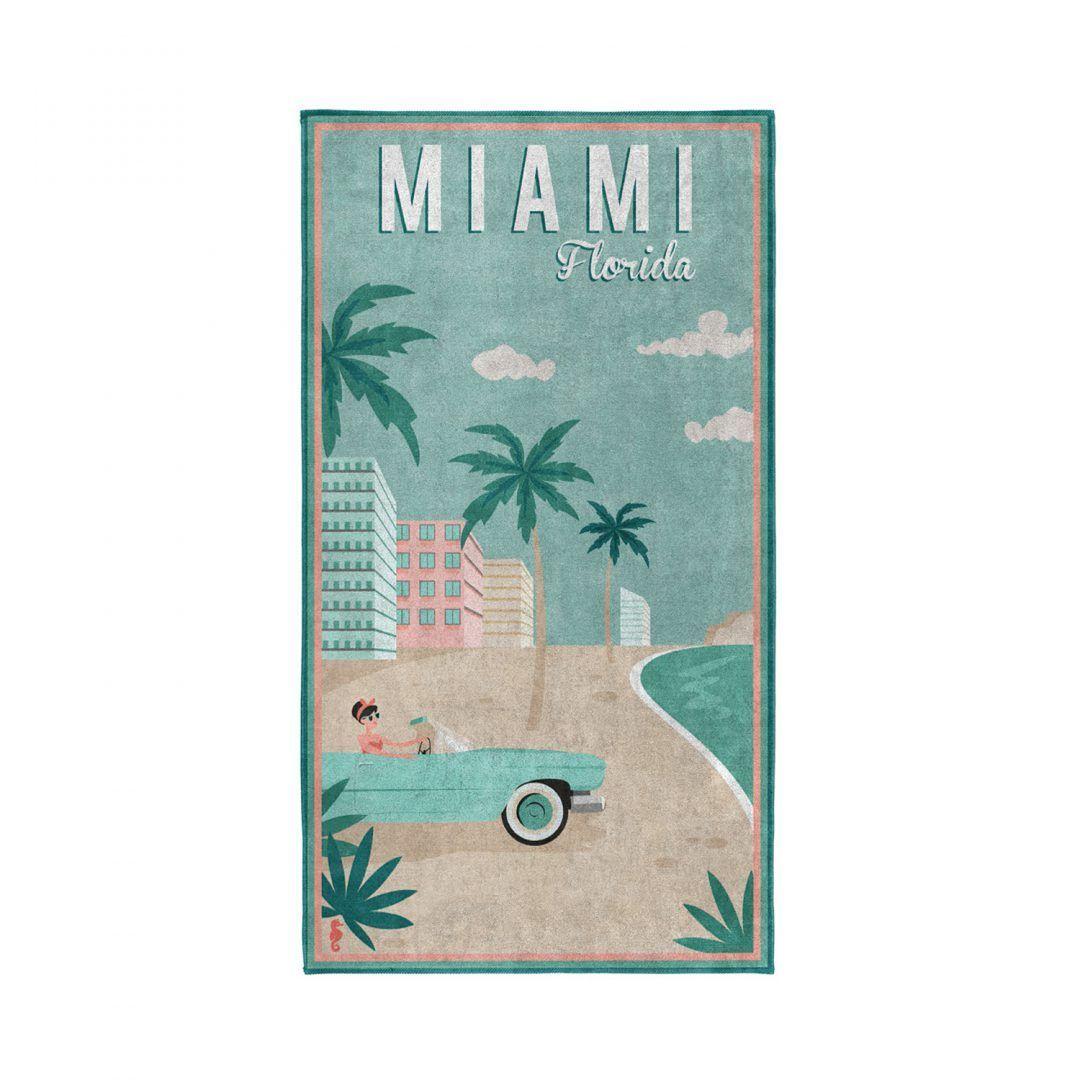 Seahorse Miami strandlaken