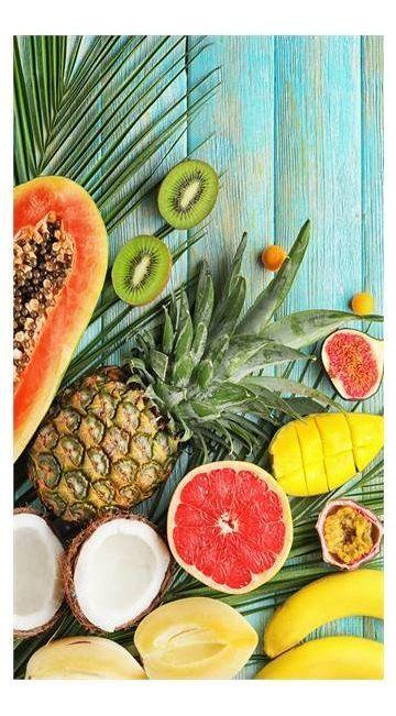 Good Morning Fresh Fruits strandlaken