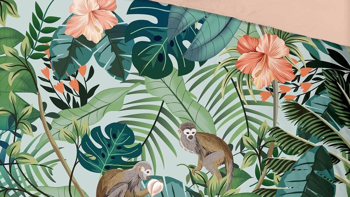 Good Morning Jungle dekbedovertrek