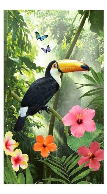 Good Morning Rainforest strandlaken