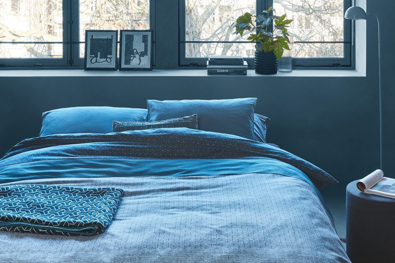 Chic & relaxed: blauw in de slaapkamer