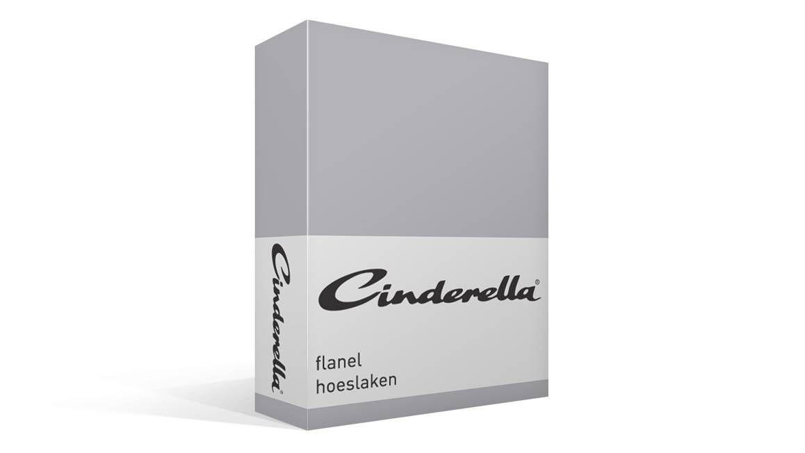 flanel hoeslaken grey