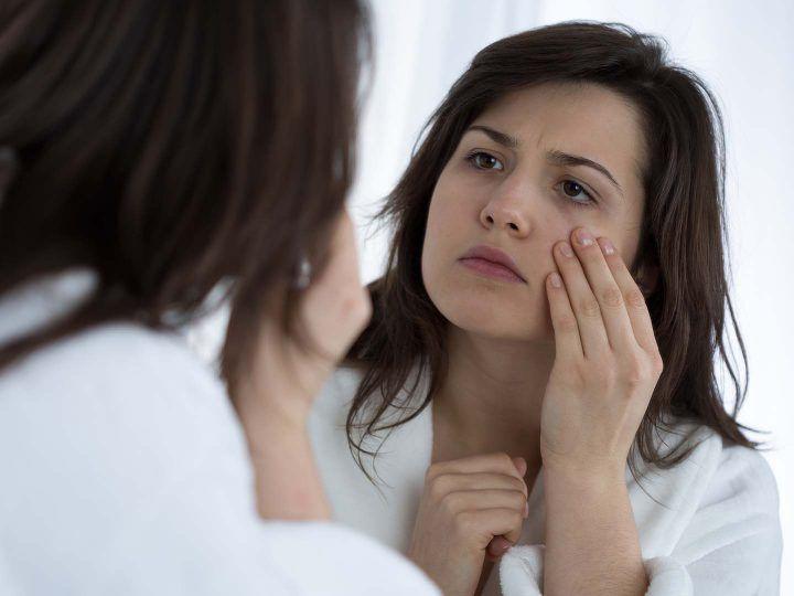 slaaprimpels- wakker worden met vouwen in je gezicht, wat doe je ertegen