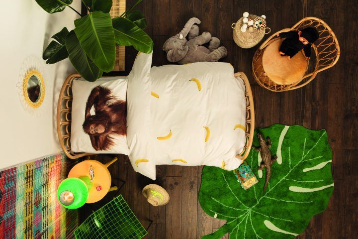 SNURK Banana Monkey dekbedovertrek