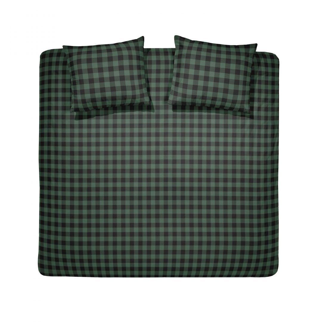 Damai Timber dekbedovertrek - Groen