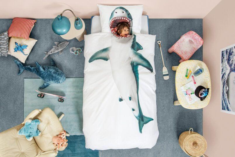Diep in de zee: tips voor een onderwaterwereld kinderkamer