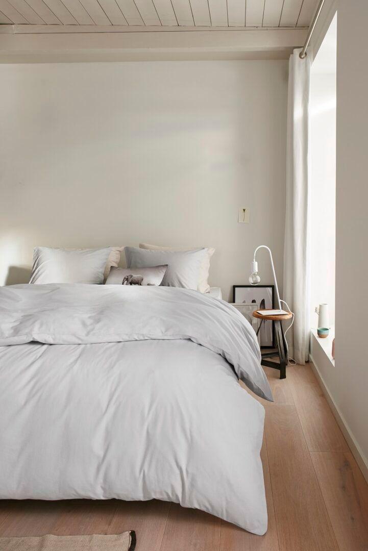 Beddinghouse Organic Basic dekbedovertrek - Light Grey