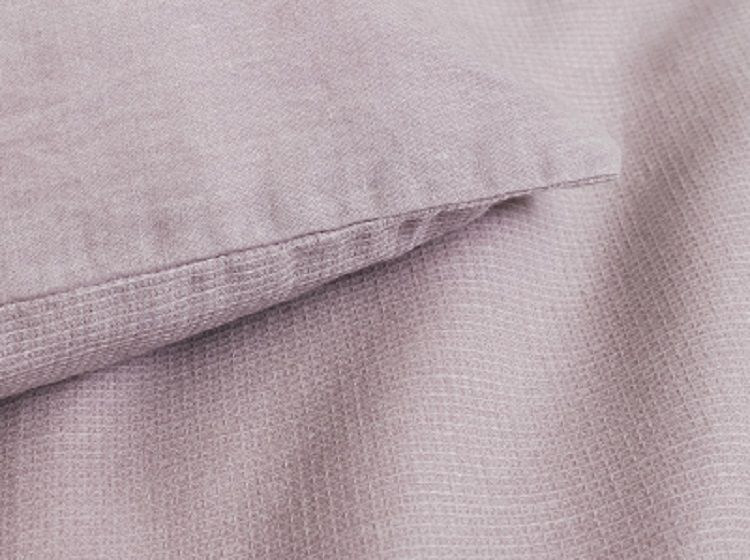 Marc O'Polo Summer Pique dekbedovertrek - Lavender