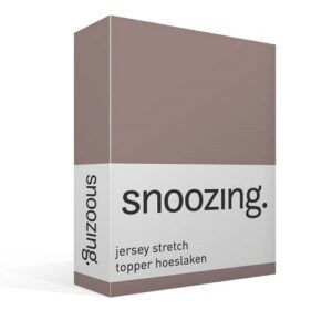 Snoozing Jersey stretch topper
