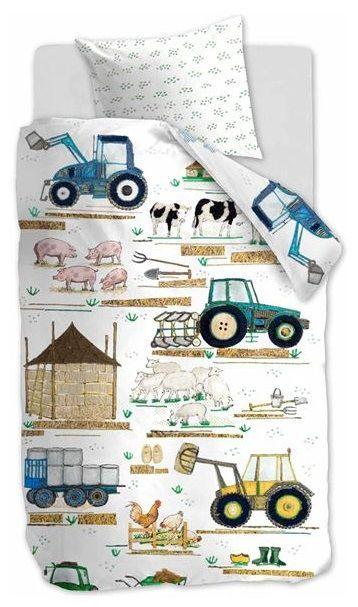 Beddinghouse Kids Farm dekbedovertrek