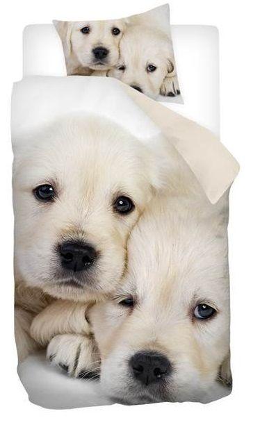 Snoozing Puppy Love dekbedovertrek