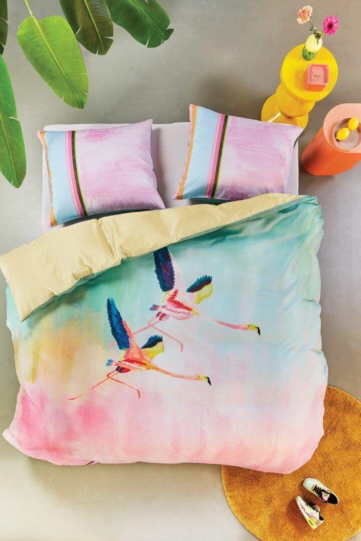 Oilily Colorful Birds dekbedovertrek