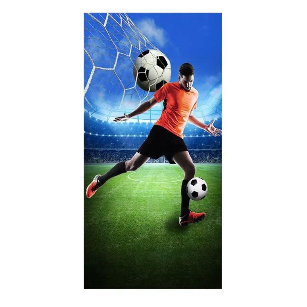 Soccer strandlaken