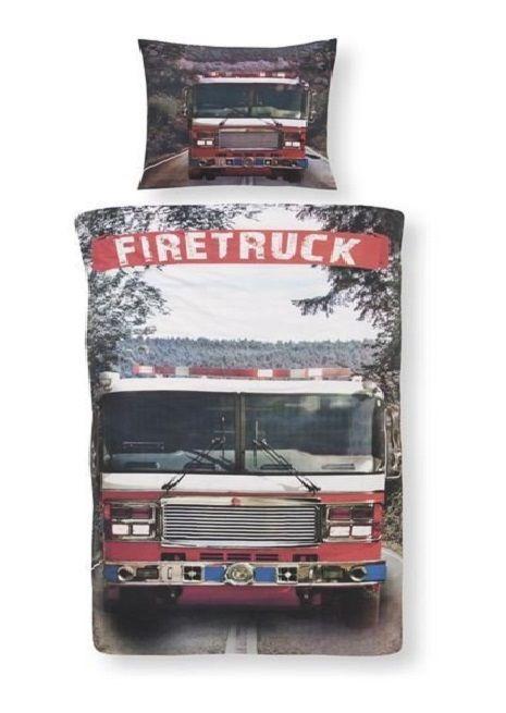Day Dream Firetruck Dekbedovertrek