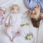 hoe white noise helpt om baby sneller te laten slapen