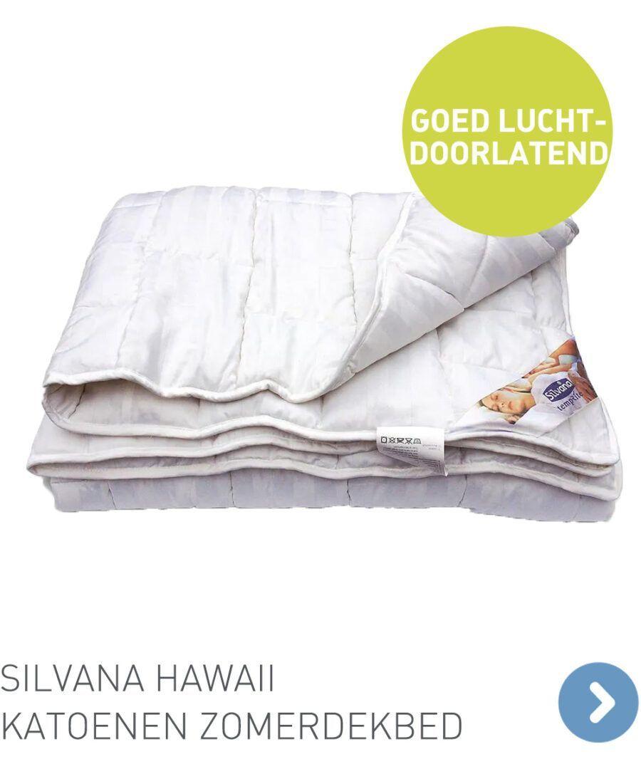 Silvana Hawaii katoenen zomerdekbed