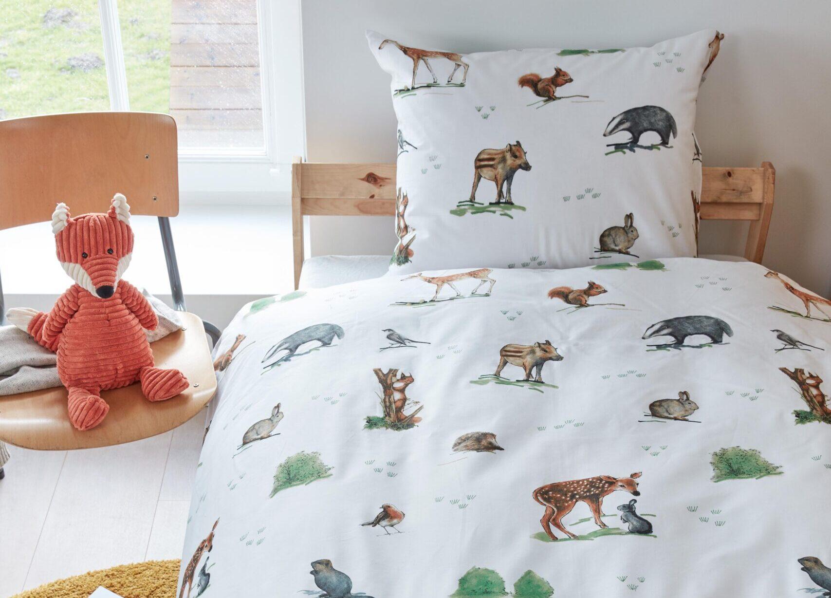 Beddinghouse Kids Forest Animals dekbedovertrek