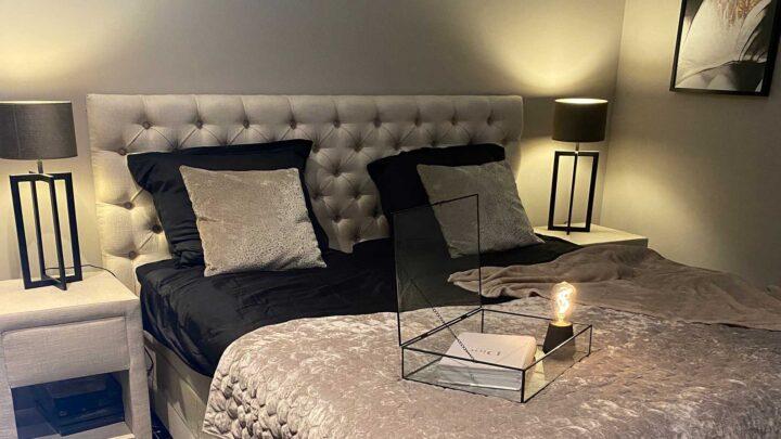 trend hotel chic slaapkamer interieur