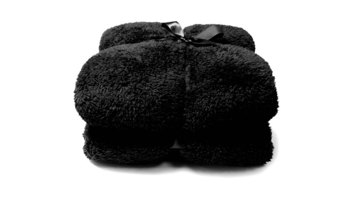 Unique Living Teddy fleece plaid