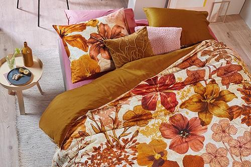 Beddinghouse Flora dekbedovertrek