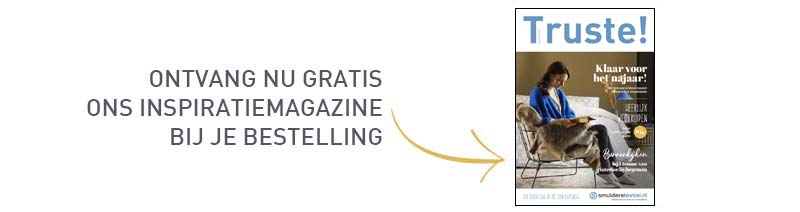Ontvang nu gratis ons inspiratiemagazine bij je bestelling